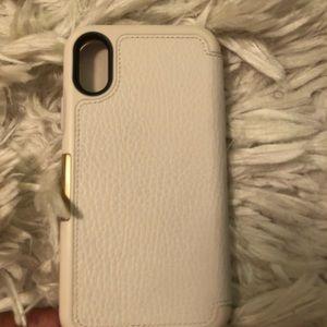 Otterbox iPhone X case